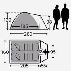 Фото — Dometic Poled Tents каркасные туристические палатки 10