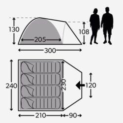 Фото — Dometic Poled Tents каркасные туристические палатки 15