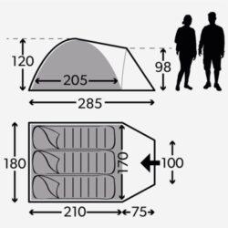 Фото — Dometic Poled Tents каркасные туристические палатки 13