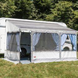 Fiamma Caravanstore 410 XL — ручная маркиза и палатка