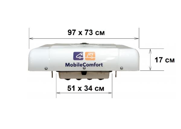 Mobile Comfort MC кондиционер накрышный — купить онлайн с доставкой