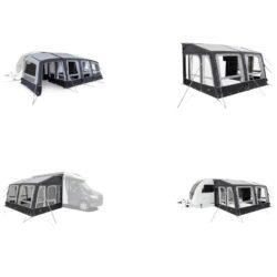 Dometic Grande Air Pro All-season палатка для каравана и автодома