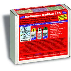Multiman Red Box — ежегодная очистка водопровода