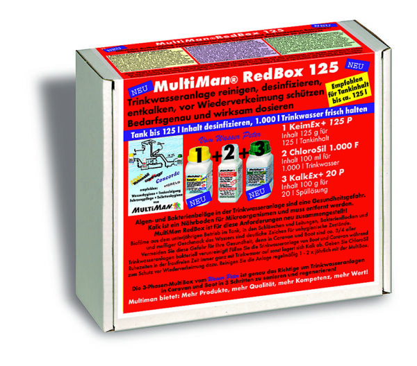 Multiman Red Box — ежегодная очистка водопровода — купить онлайн с доставкой