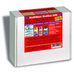Фото — Multiman Red Box — ежегодная очистка водопровода 2
